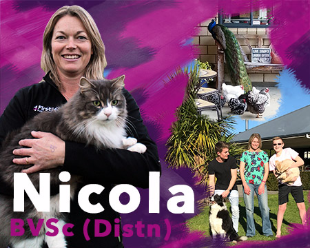 Nicola - Frist Vets Veterinarian